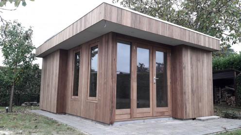 Tuinhuis project belgie