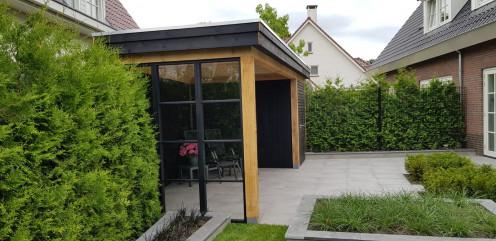 Tuinhuis project leende