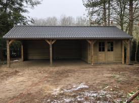 Tuinhuis projecten in aanbouw