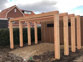Tuinhuis project nobelwood