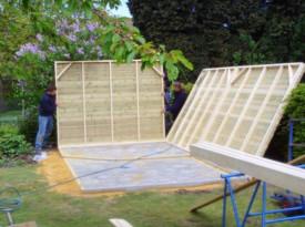 Tuinhuis project